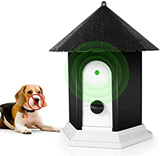 Barking Ultrasonic Deterrents Control Birdhouse