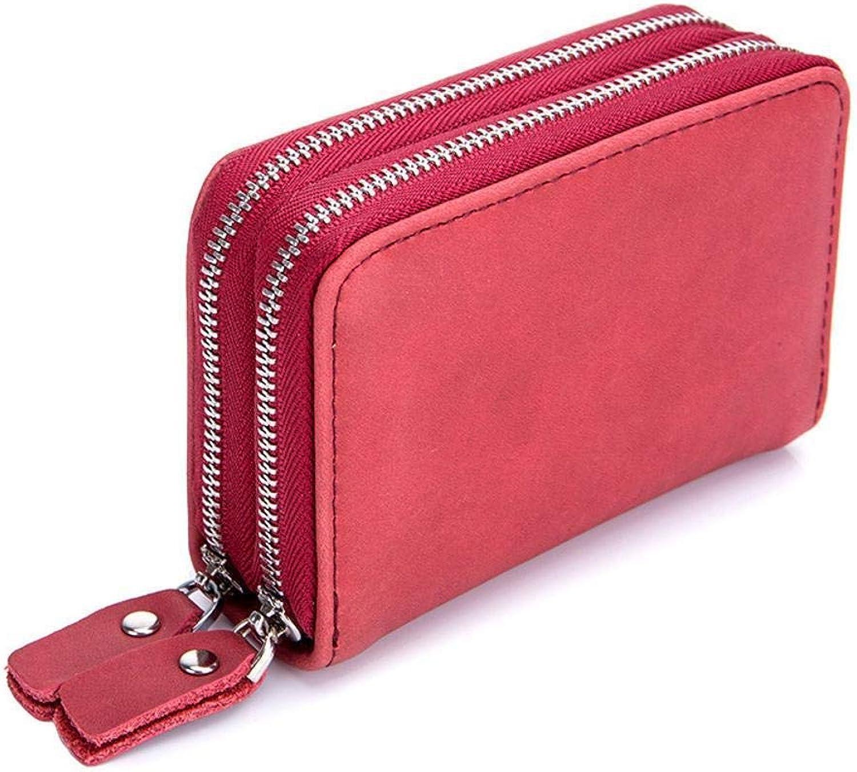 Girls Purse Women's Wallet MultiFunction DoubleDeck Card Bag Zipper Cross Section Key Bag Large Capacity Wallet 11  7.5  3.7cm (color   B)