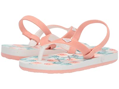 Roxy Kids Tahiti VI (Toddler) (Peach Parfait) Girls Shoes