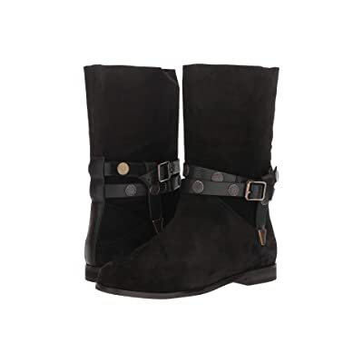 Free People Hayden Slouch Boot (Black) Women