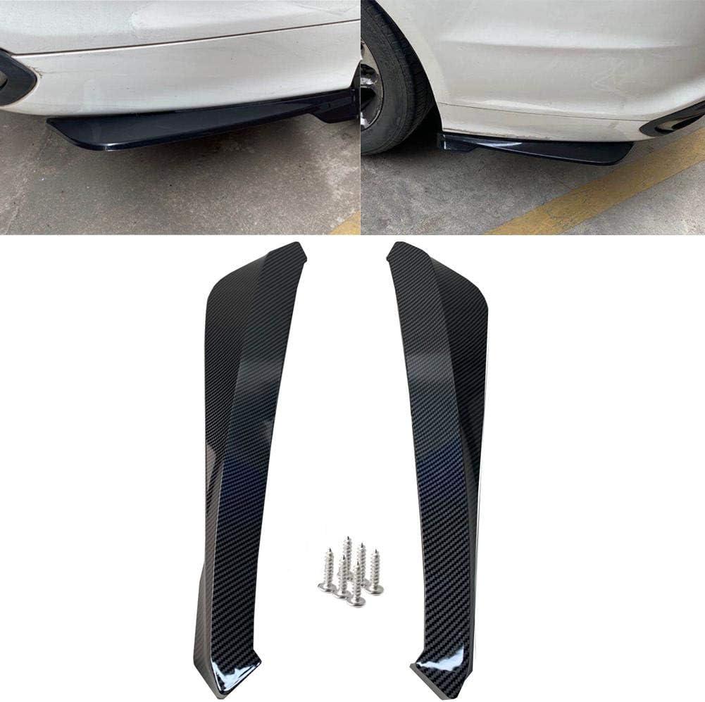 service YUYAOYAO 2pcs Car Rear Diffuser On Lip Max 82% OFF S Bumper Universal