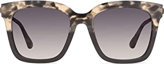 DIFF Eyewear - Bella - Designer Square Sunglasses for Men & Women - 100% UVA/UVB [Polarized]