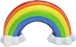 Streamline Ceramic Rainbow Money Bank,Multicolor