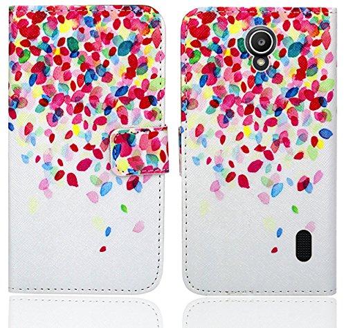 Huawei Y635 Handy Tasche, FoneExpert® Wallet Hülle Flip Cover Hüllen Etui Ledertasche Lederhülle Premium Schutzhülle für Huawei Y635 (Pattern 1)