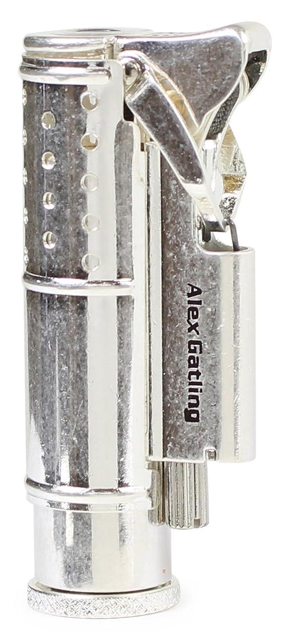 グリップ非公式八百屋ペンギンライター ライター アレックスガトリング バレル仕上げ シルバー