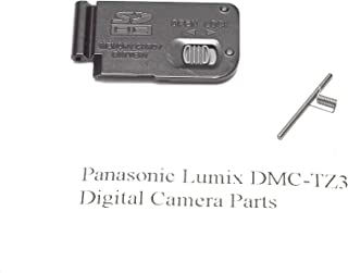 Genuine Panasonic Lumix DMC-TZ3 Battery Door Cover - Replacement Parts