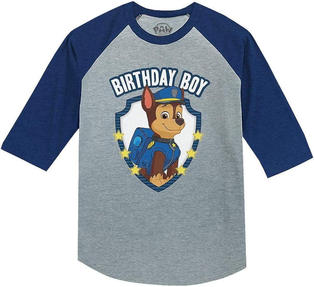 Paw Patrol Birthday Shirt for Boys Toddler Birthday