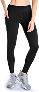Yogipace Women'sPetite/Tall Yoga Workout Running Leggings with Side Pockets for Big Screen...
