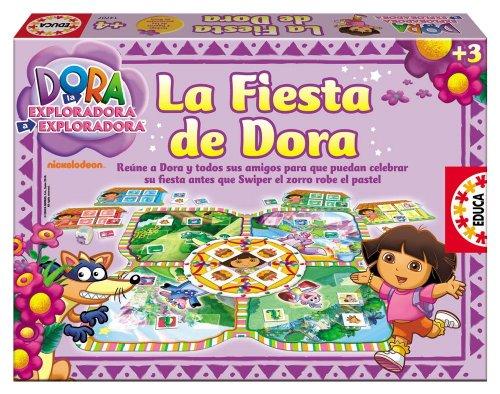 Educa Borrás 14707 - La Fiesta De Dora La Exploradora