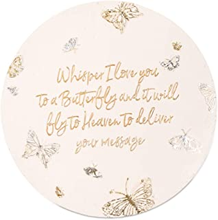 Pavilion Gift Company 22215 Whisper I Love You to A Butterfly and It Will Fly to Heaven to Deliver Your Message-10 Inch Weather Proof Ston 10