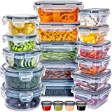 Food Storage Containers with Lids - Plastic Food Containers with Lids...