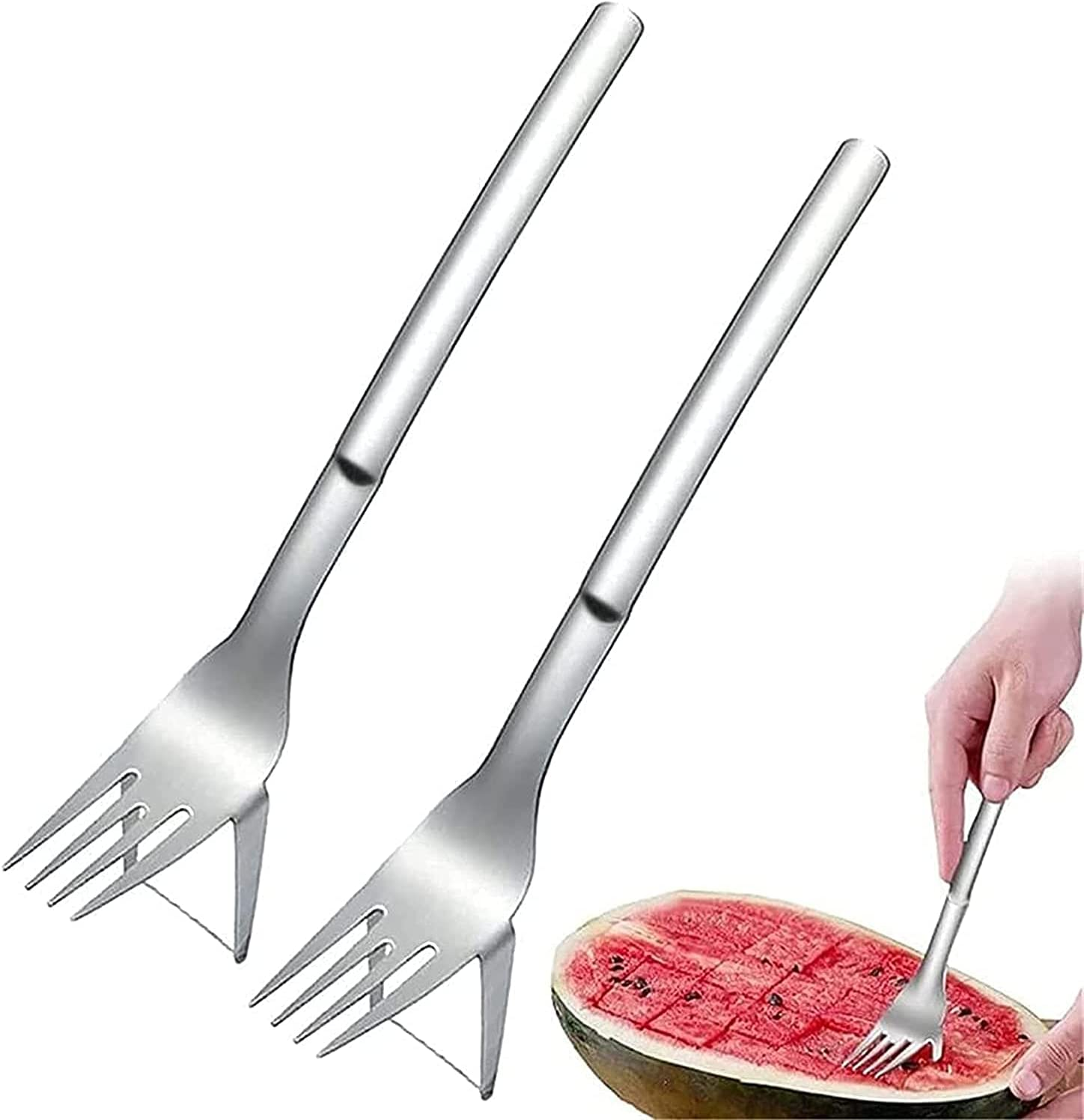 Cut Watermelon Mail order Artifact Stainless Cutte Steel Slicer NEW before selling