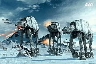 Star Wars Atat Empire Strikes Back Movie Poster