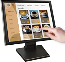 17-inch HDMI Resistive Touch Screen POS LED Monitor with VGA and HDMI Port and Cable, for Office, Retail, Restaurant, Bar,...