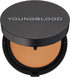 Youngblood Creme to Powder Foundation Refillable Compact, Warm Beige, 7 g
