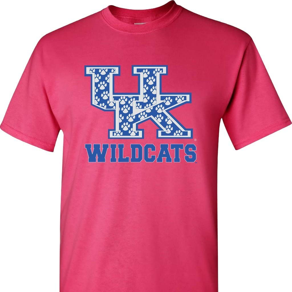 UK Indianapolis Mall Interlock shopping Filled with Paws on Short Sleeve Pink Shirt a