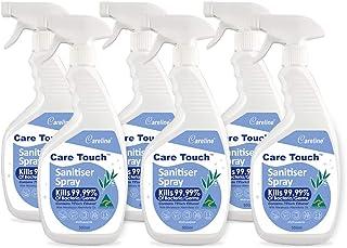 Care Touch Value Pack 6 x 500ml Sanitiser Sprays