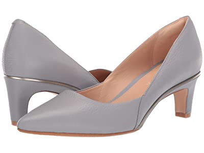 Clarks Ellis Rose (Grey/Blue Leather) High Heels