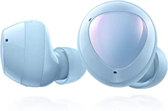 Samsung Galaxy Buds+ Plus, True Wireless Earbuds w/improved battery and call quality (Wireless Charging Case included), Cloud Blue– US Version