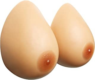 Sotica Premium Silicone Breast Forms One Pair Fake Boobs Fake Breast Prosthetic Breast Forms for Crossdresser Mastectomy