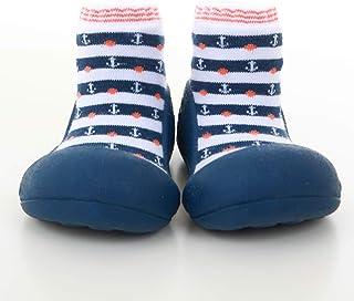 Attipas Marine Arrow Pre Walker Baby Shoes, Navy, X-Large