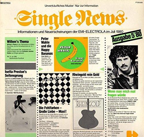 Single News Informationen und Neuerscheinungen der EMI-ELECTROLA im Juli 1980
