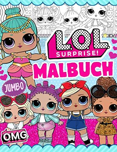 L.O.L. Surprise! Malbuch: LOL Girls Malbuch: Färben Sie Die Niedlichsten Inoffiziellen Bilder