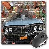 Mouse Pad Gaming Funcional Conjunto de coches Alfombrilla de ratón gruesa impermeable para escritorio Graffiti destacado gráfico de accidente automovilístico en un diseño de estilo de calle subterráne