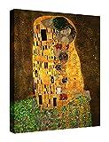 Eliteart-The Kiss by Gustav Klimt Giclee Art...