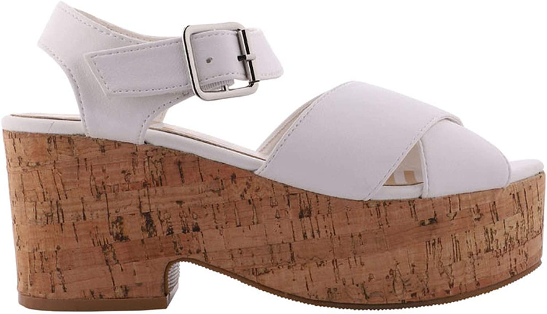 JIESENGTOO Sandals Women Platform Sandals High Heels Summer Ladies Party shoes PLU Leather