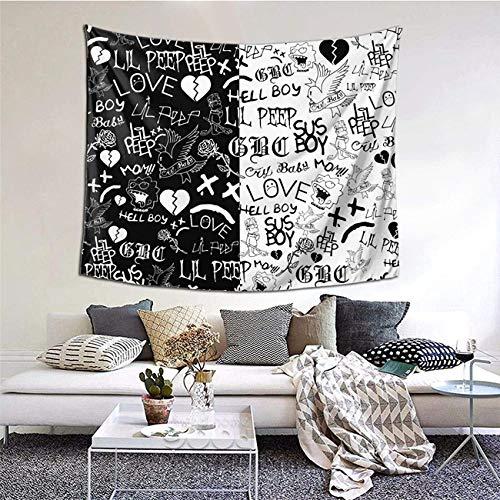 LILHXIU Tapiz de pared para colgar en la pared, diseño de rapero y grito de bebé, para dormitorio, decoración del hogar