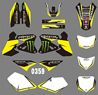 DST0359 Motorcross Graphics Custom Decal Kit for Rockstar 3M DECALS STICKERS Graphics Kits for Suzuki DRZ400 DRZ 400 2000 2001 2002-2012