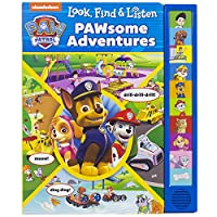 Nickelodeon Paw Patrol: Pawsome Adventures (Look and Find)
