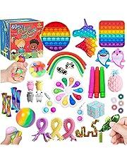 TimiCare Fidget Toys Set, Pop it set , Stress Relief Toys for Focus & Calm , Toy Box & Party Favor Fidget Pack