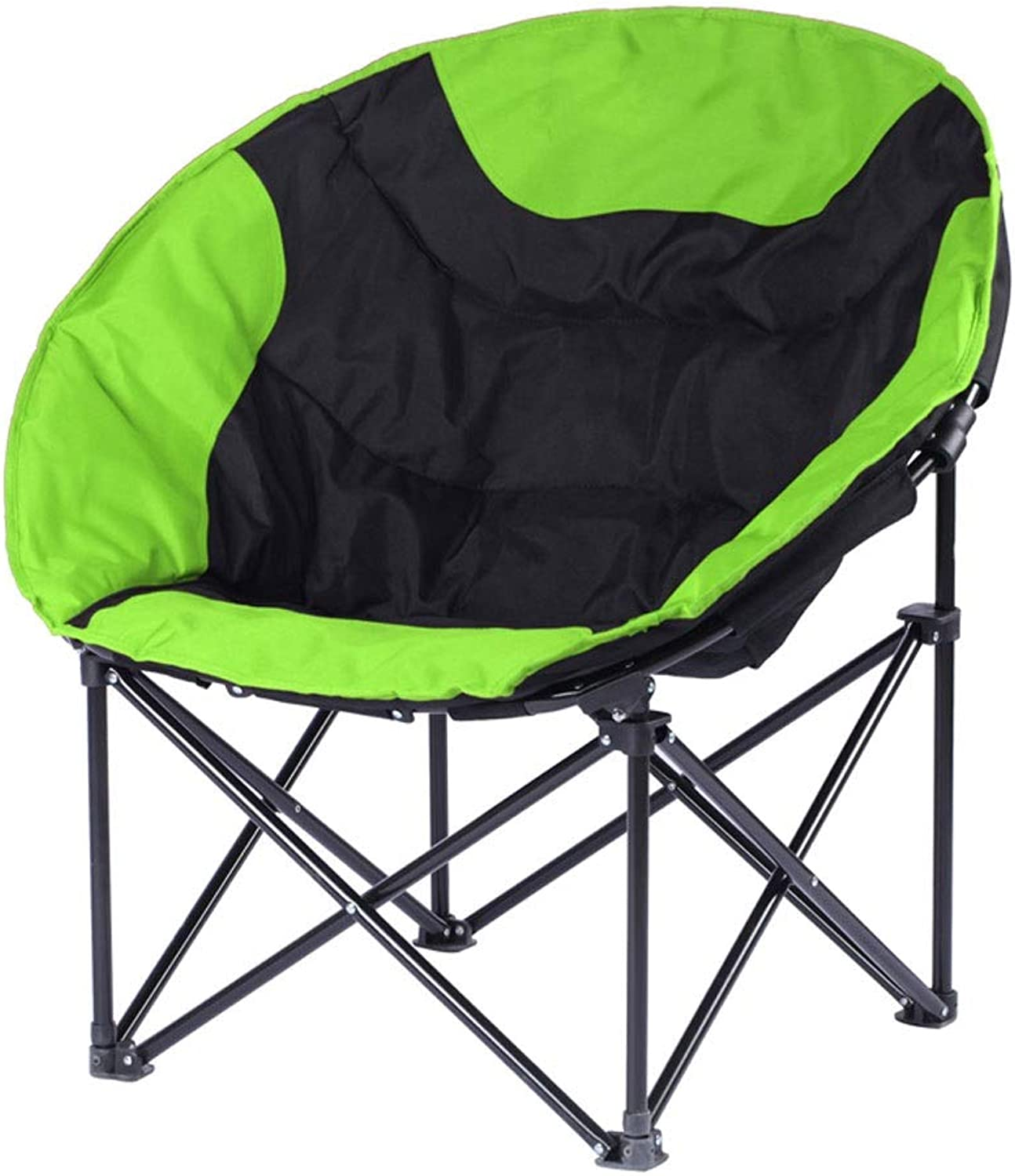 LNYJ Leisure Folding Chair Recliner Lazy Chair Large Home Courtyard Lunch Break Outdoor Portable Fishing Chair Oxford Cloth Washable Super Load Bearing Stool (color   Green)