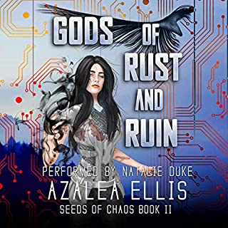 Gods of Rust and Ruin: A LitRPG Novel cover art