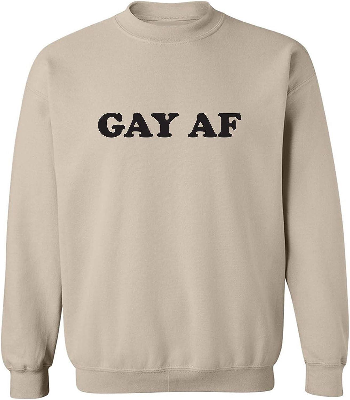 Gay AF Crewneck Sweatshirt