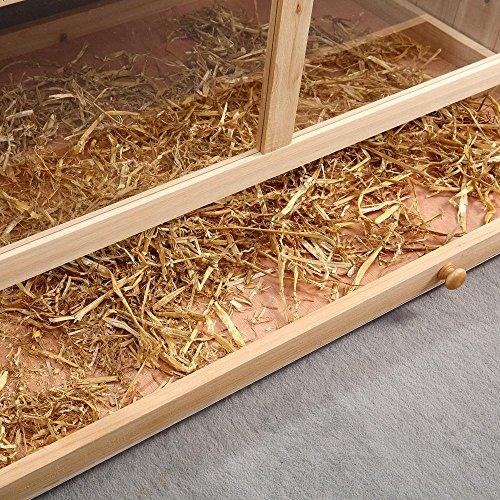 Nagerkäfig Villa Hamsterkäfig Mäusekäfig Kleintierkäfig Käfig Rattenkäfig Holz - 3