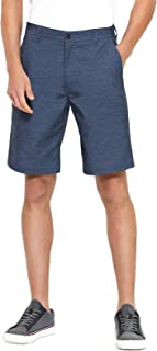 PULI Men's Golf Hybrid Dress Shorts Casual Chino Stretch Flat Front Lightweight Quick Dry with Pockets