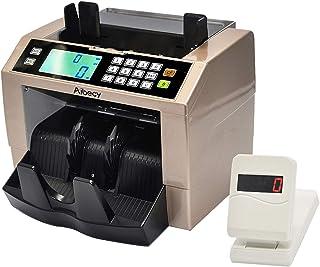 ماكينة العد العداد الأوتوماتيكي متعدد العملات النقدية النقدية العملات المعدنية مع كاشف الأشعة فوق البنفسجية MG مزيفة لوحة ...