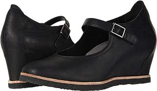 Women's Boden Black Burnishable Nubuck 9 D US