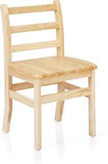 Classic Solid Wood Ladderback Chair - 10