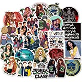 HENJIA Pegatinas de Riverdale TV Series Graffiti Laptop Cars Guitar Sticks Cajas y Cars 50Pcs...