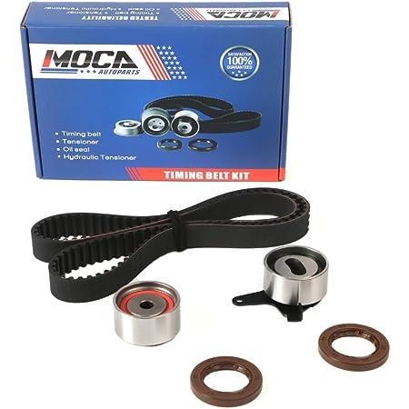 MOCA Timing Belt Kit with Tensioner for 1997-2001 Mazda Protege 1.5L 1.6L DOHC 16V Z5 ZM #TCK308