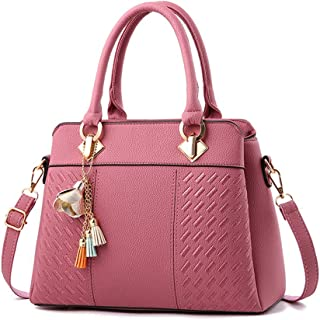 FTSUCQ Womens Tassel Satchels Shoulder Handbags Casual Messenger Bag Hobos Satchels Purse