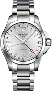 Longines Conquest Silver Dial Men's Watch L3.687.4.76.6