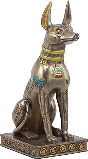 Egyptian Classical Deity God Of Mummification Afterlife Anubis Jackal Dog Figurine Egypt Culture As Home Decorative Deskto...