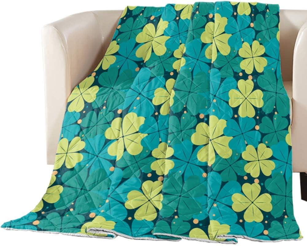 Selling Comforter Duvet Insert Home Quilt Max 50% OFF Happy Sham Theme Patrick's St.