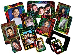 Scratch-Art Photo Frames Group Pack