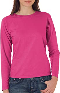 Comfort Colors Women's 5.4 oz Ringspun Garment-Dyed Long Sleeve T-Shirt C3014